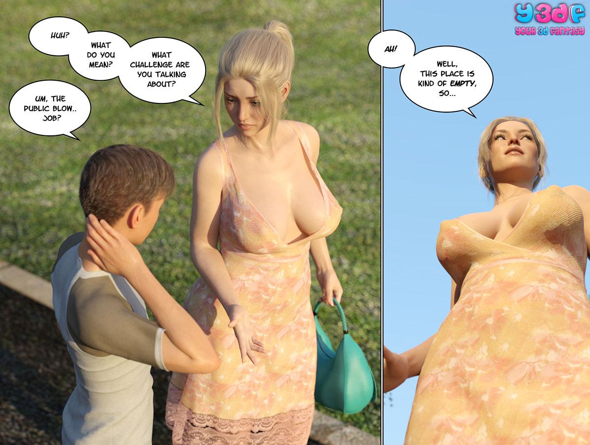 """Y3DF comic """"Circle 3"""" - page 82"""