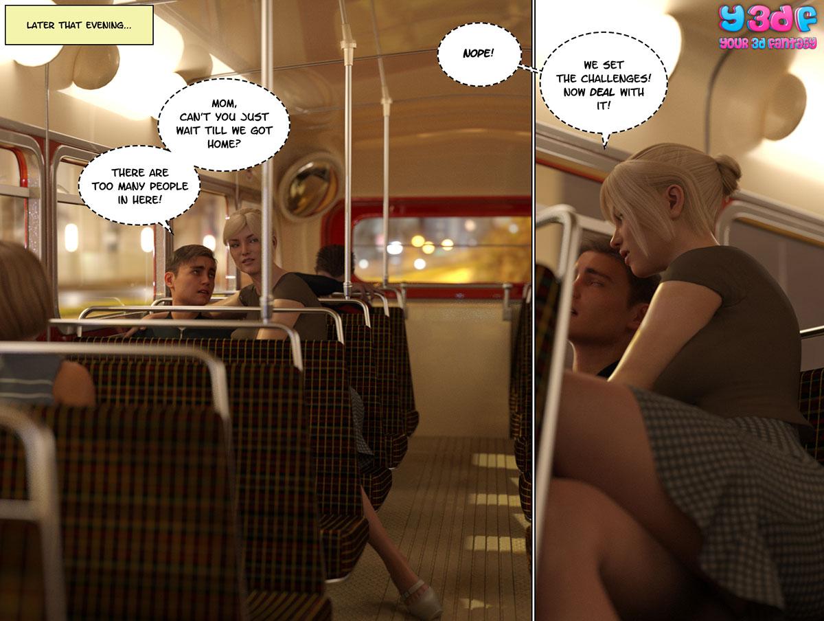 """Y3DF comic """"Circle 3"""" - page 85"""