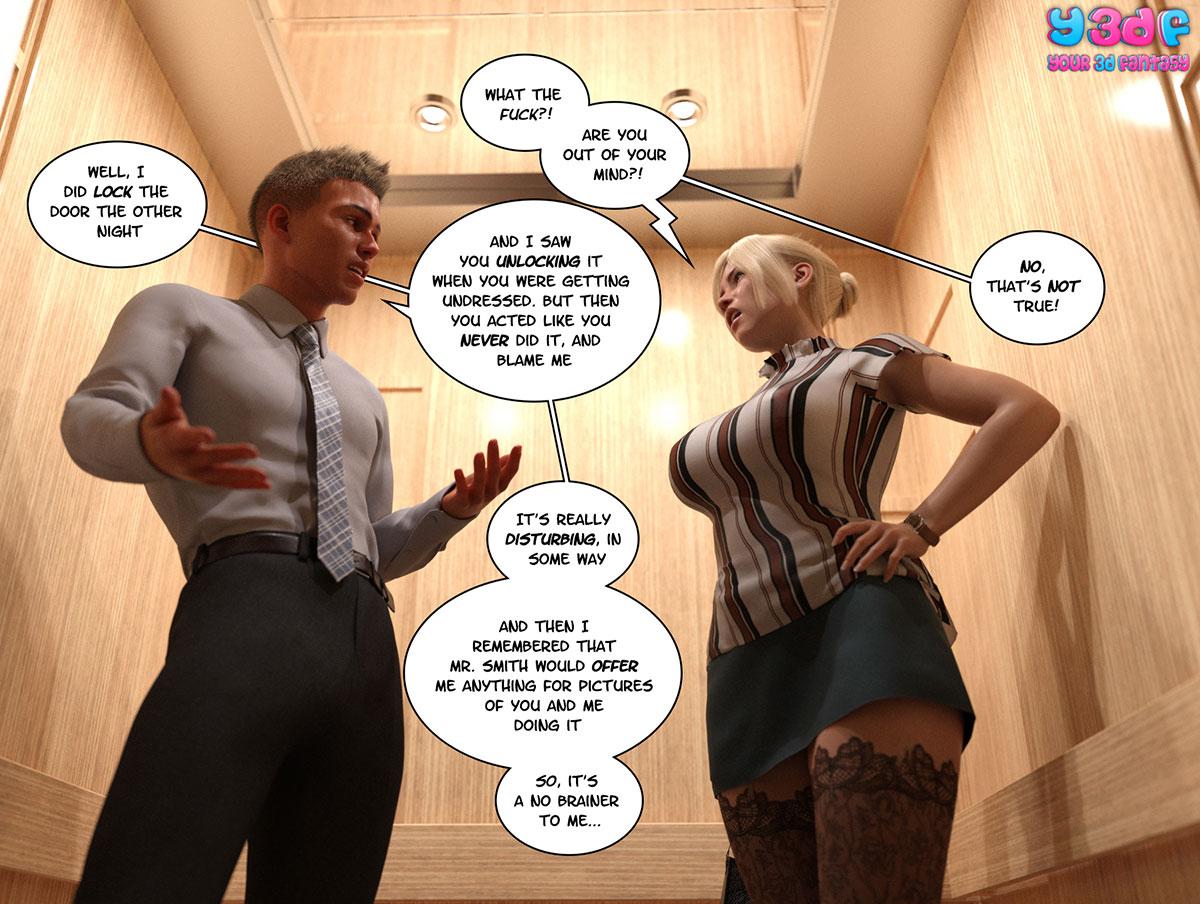 """Y3DF comic """"Circle 3"""" - page 9"""