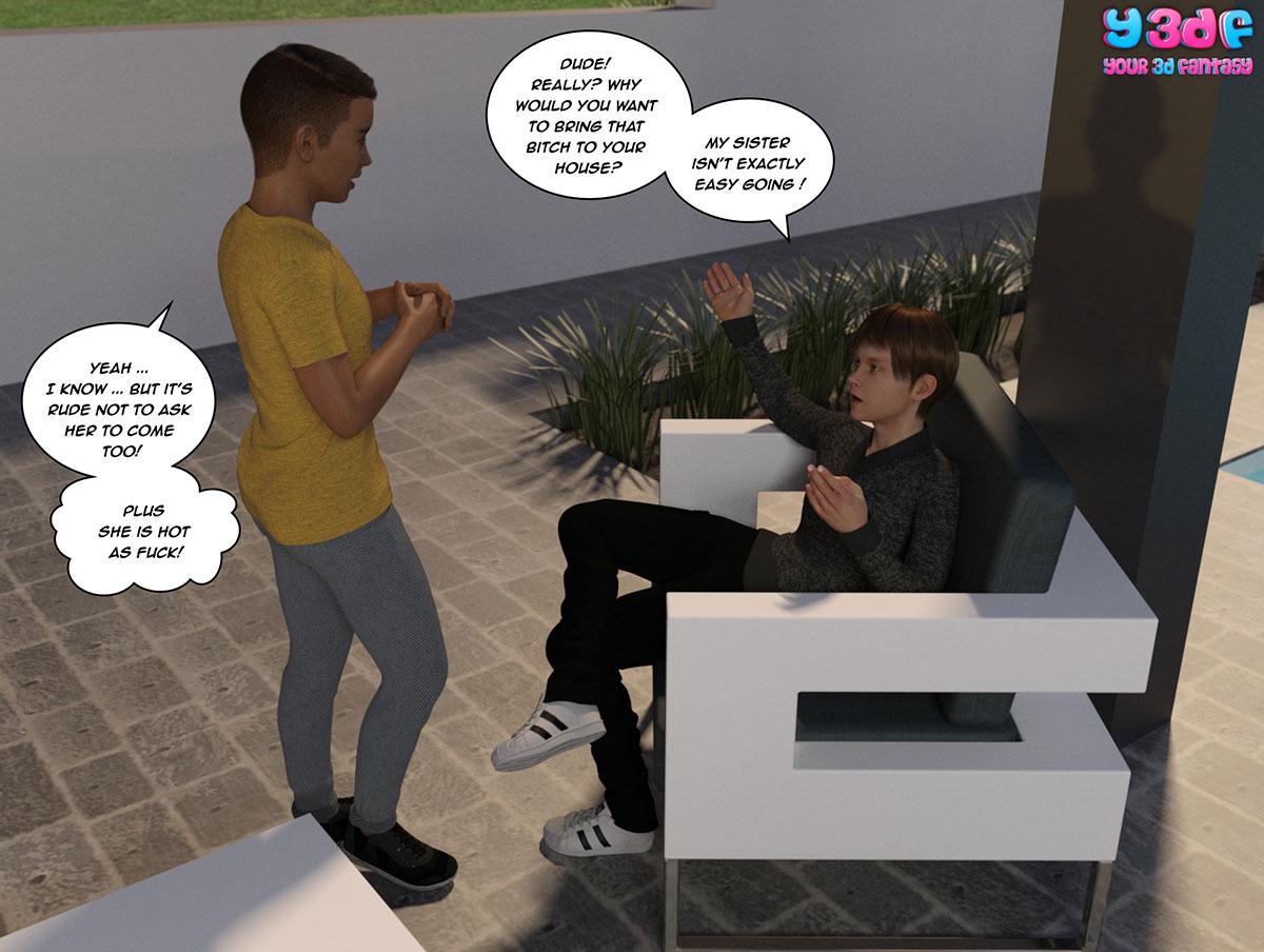 """Y3DF comic """"Tha Bad Tan 4"""" - page 5"""