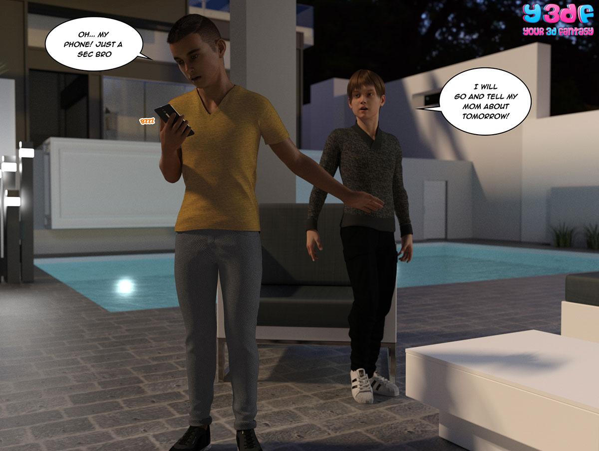 """Y3DF comic """"Tha Bad Tan 4"""" - page 6"""