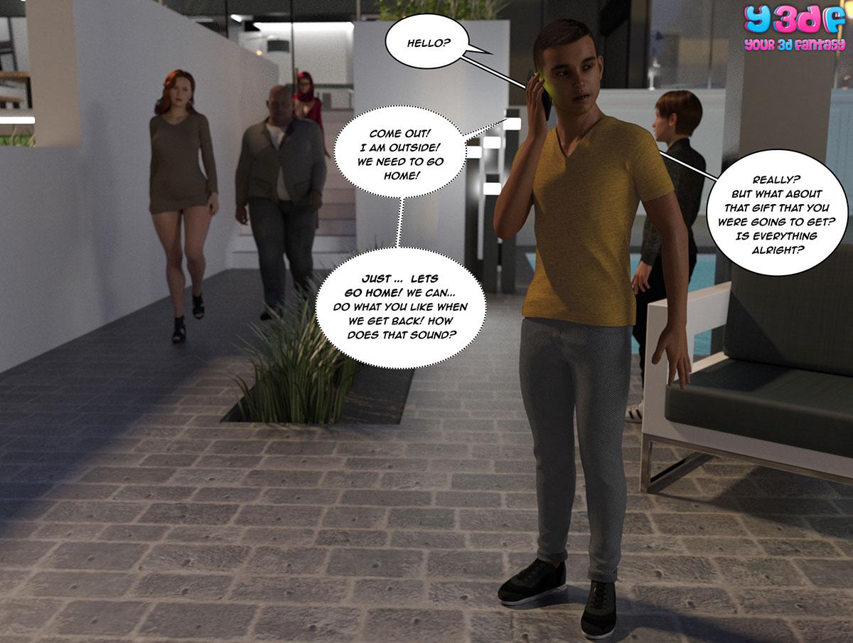 """Y3DF comic """"Tha Bad Tan 4"""" - page 7"""