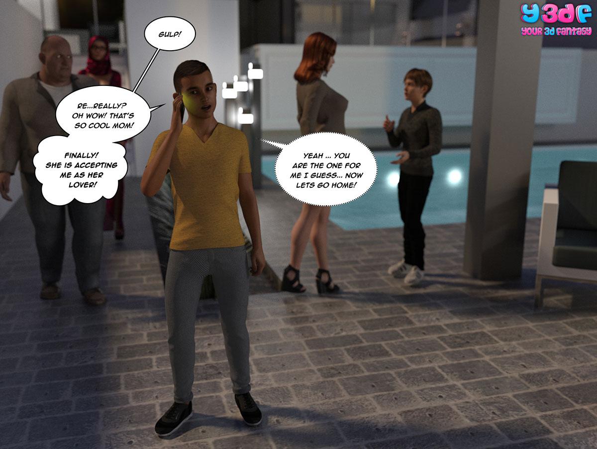 """Y3DF comic """"Tha Bad Tan 4"""" - page 8"""