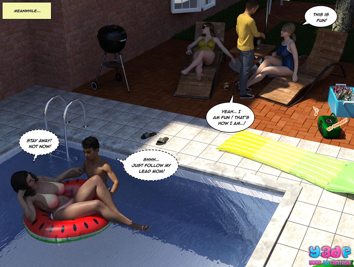 """Y3DF comic """"The Bad Tan 5"""" - page 39"""