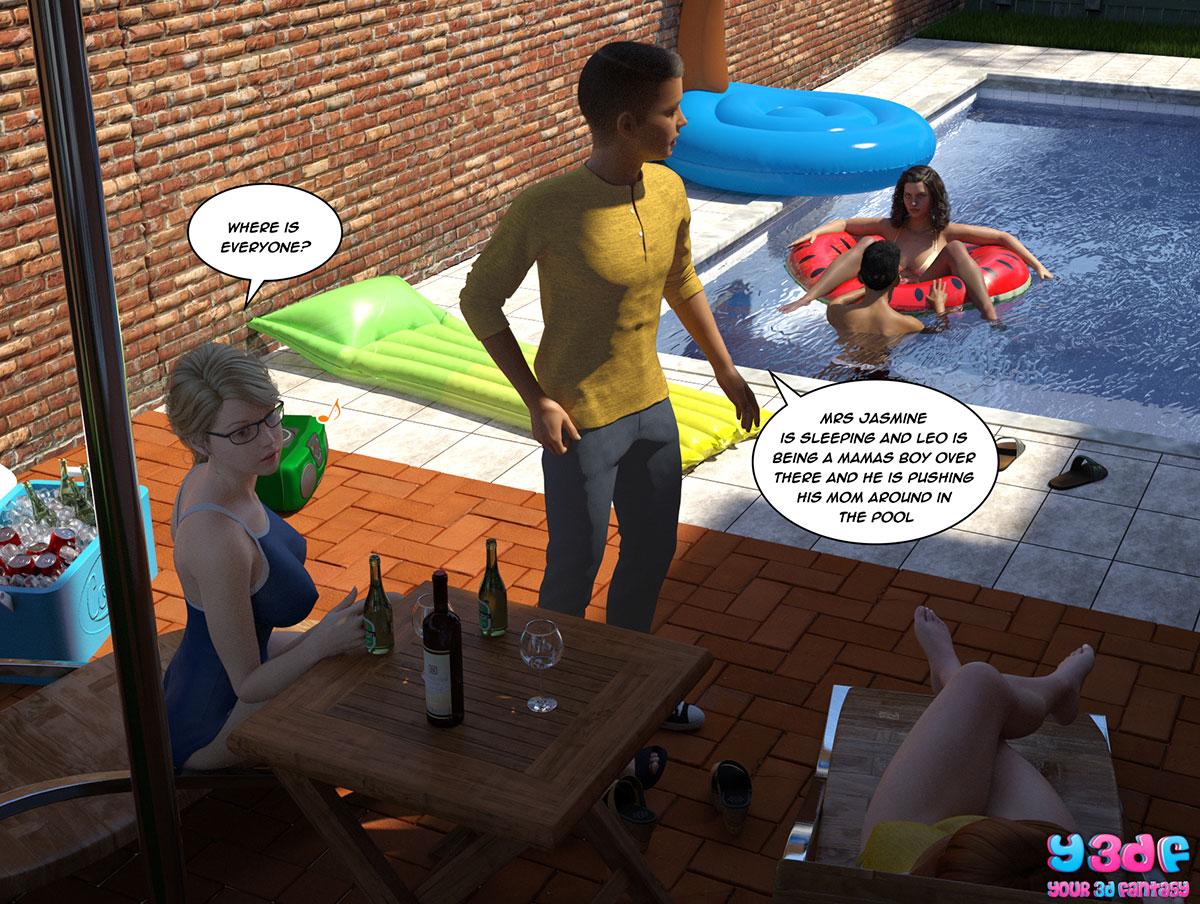 """Y3DF comic """"The Bad Tan 5"""" - page 40"""