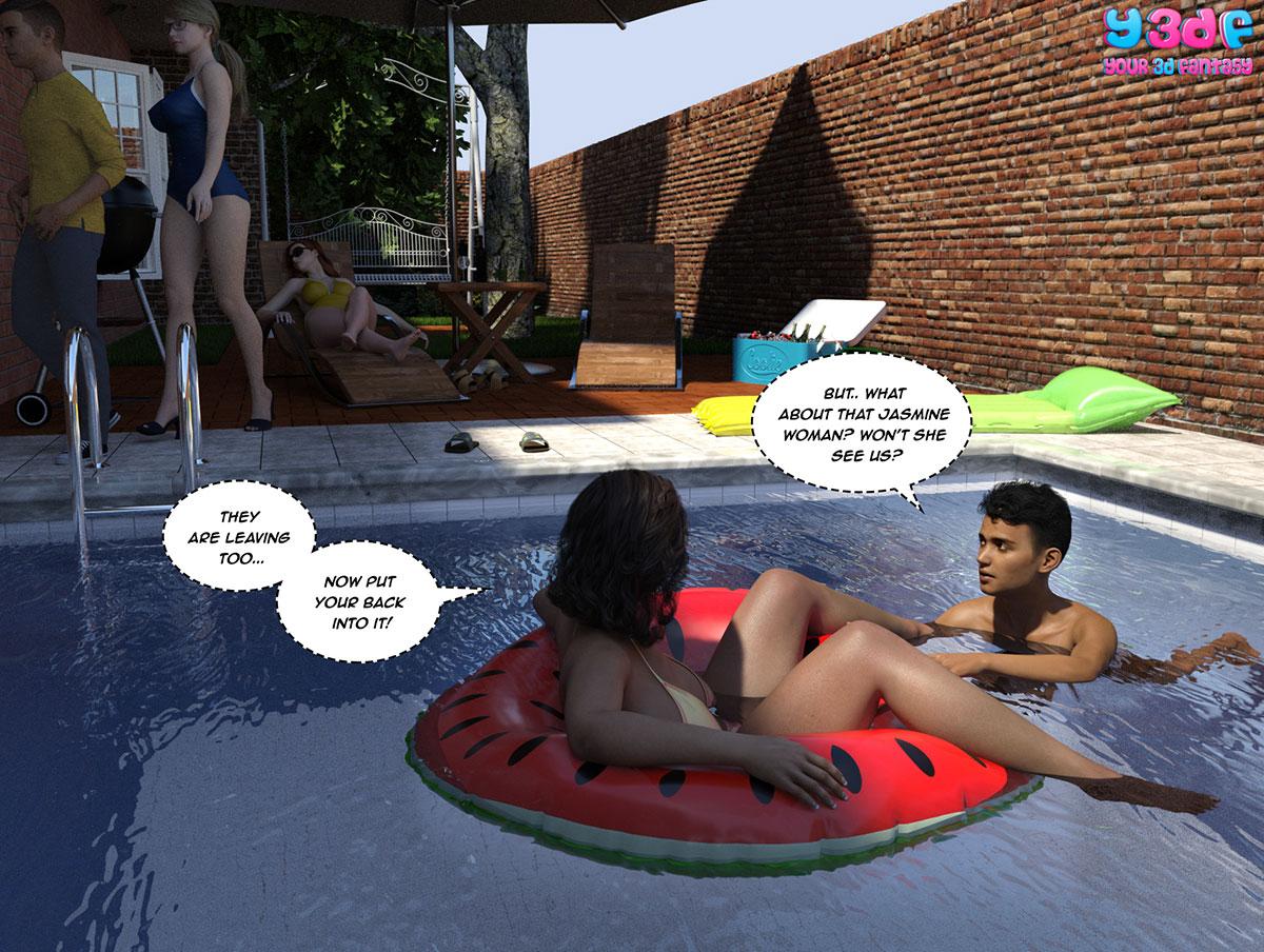 """Y3DF comic """"The Bad Tan 5"""" - page 42"""