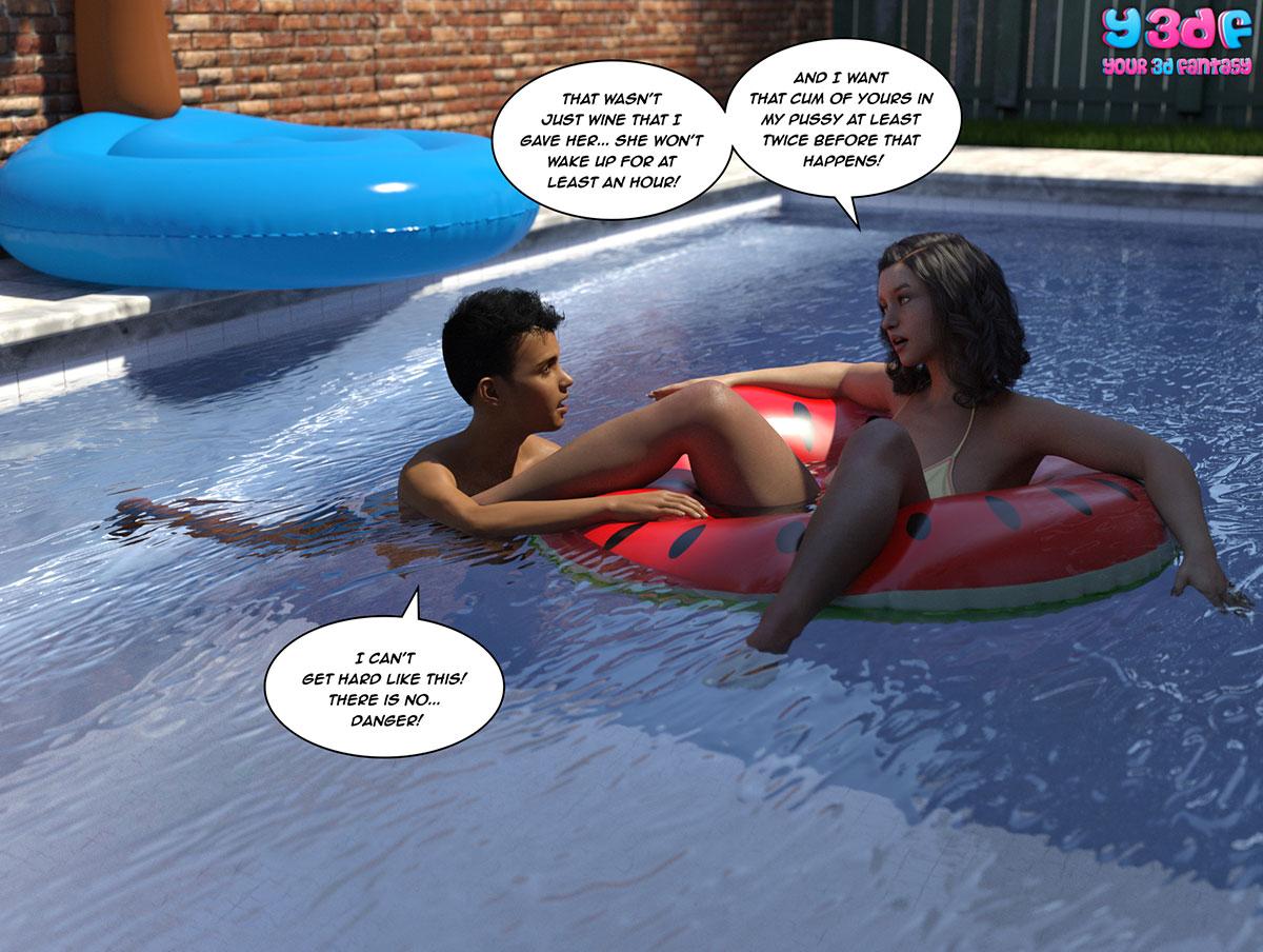 """Y3DF comic """"The Bad Tan 5"""" - page 43"""