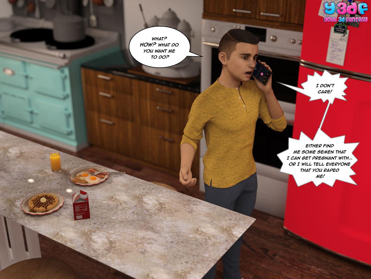 """Y3DF comic """"The Bad Tan 5"""" - page 5"""