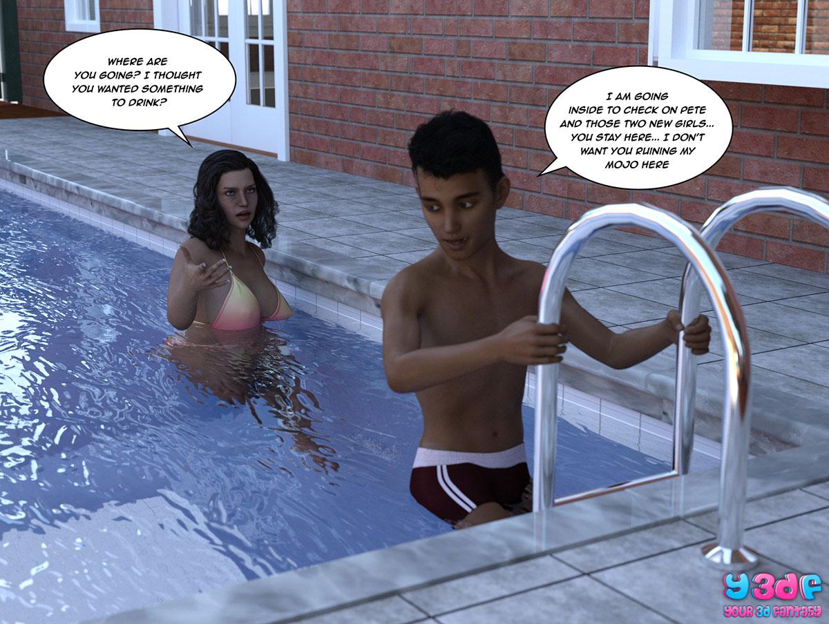 """Y3DF comic """"The Bad Tan 5"""" - page 57"""