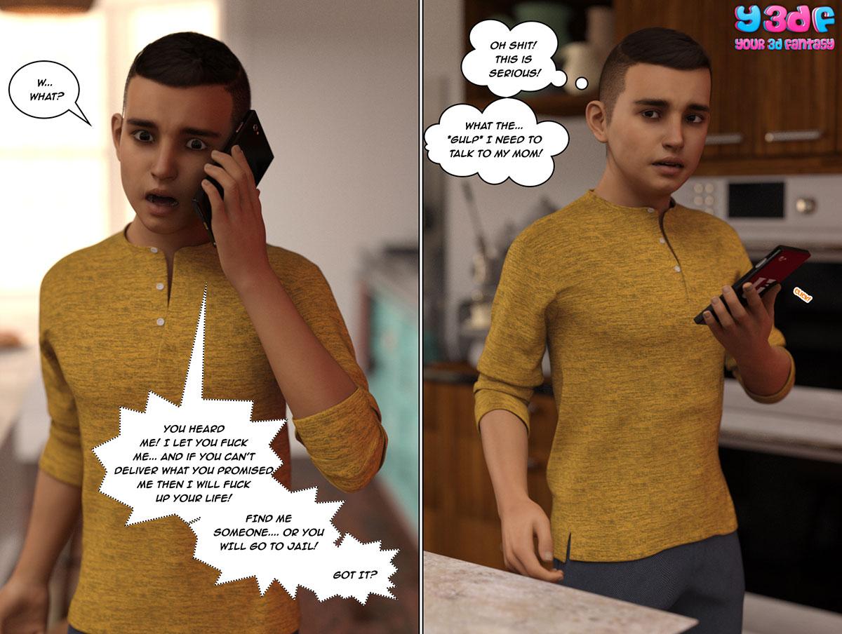 """Y3DF comic """"The Bad Tan 5"""" - page 6"""