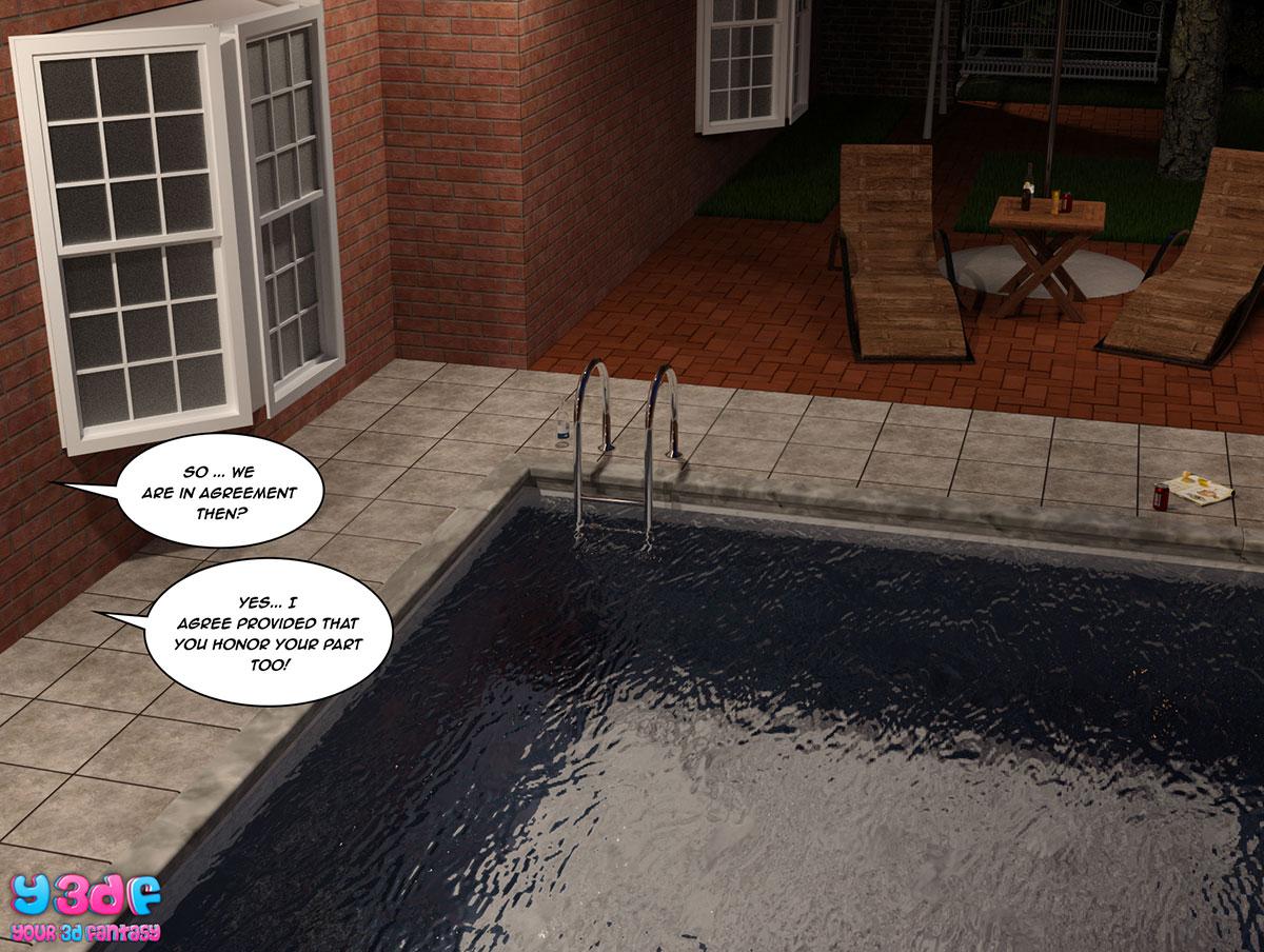 """Y3DF comic """"The Bad Tan 5"""" - page 62"""