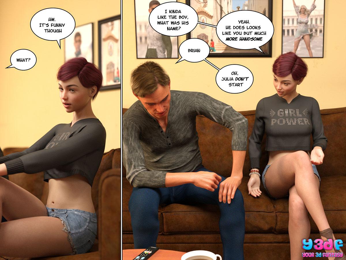 """Y3DF comic """"Circle 4"""" - page 14"""
