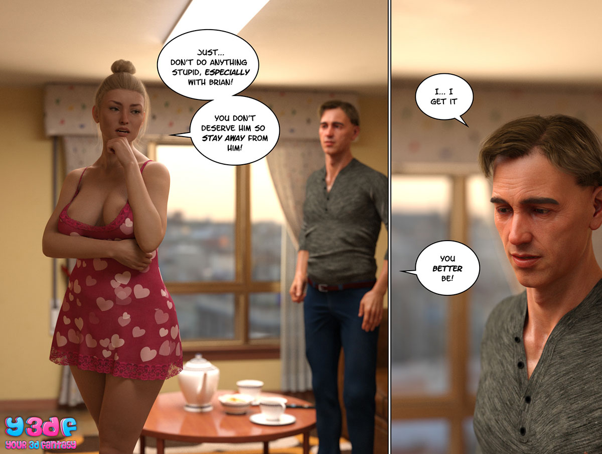 """Y3DF comic """"Circle 4"""" - page 21"""