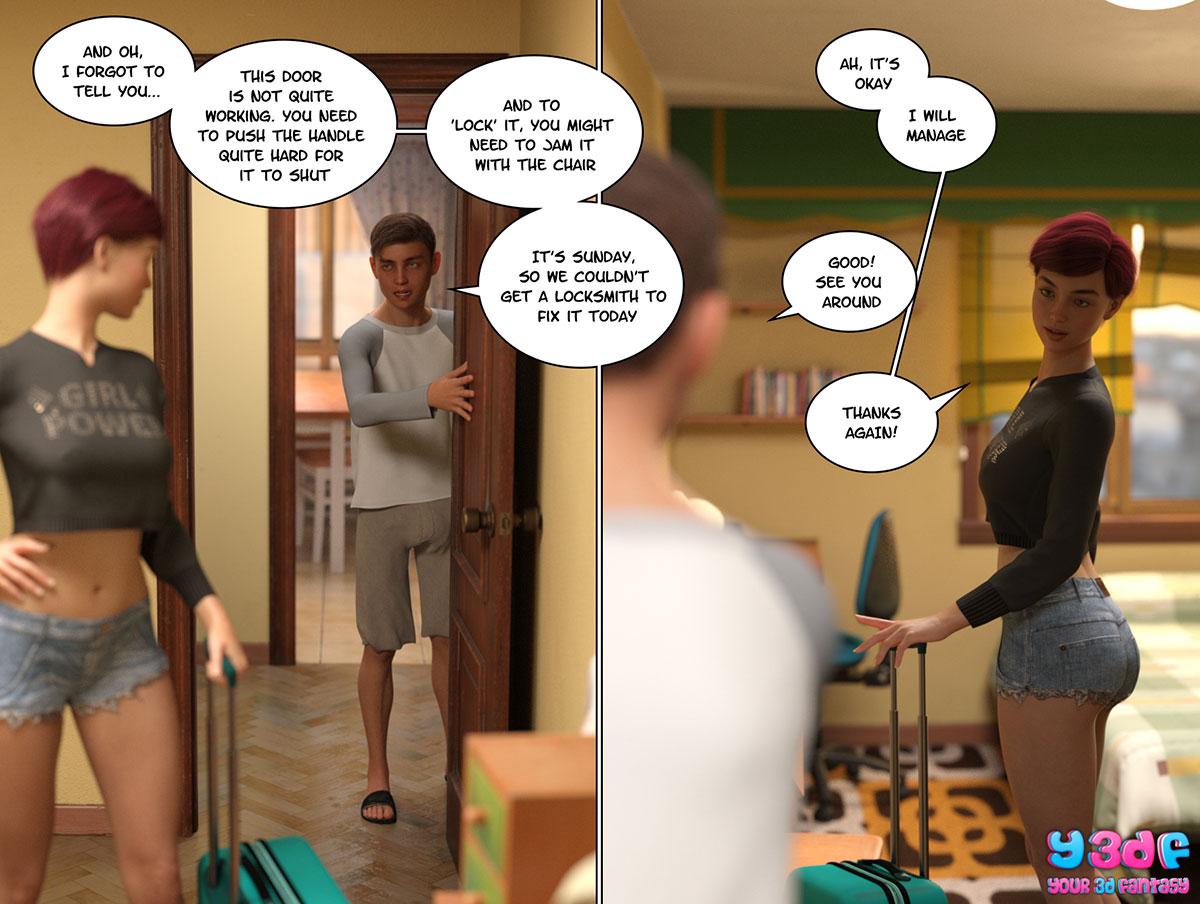 """Y3DF comic """"Circle 4"""" - page 23"""