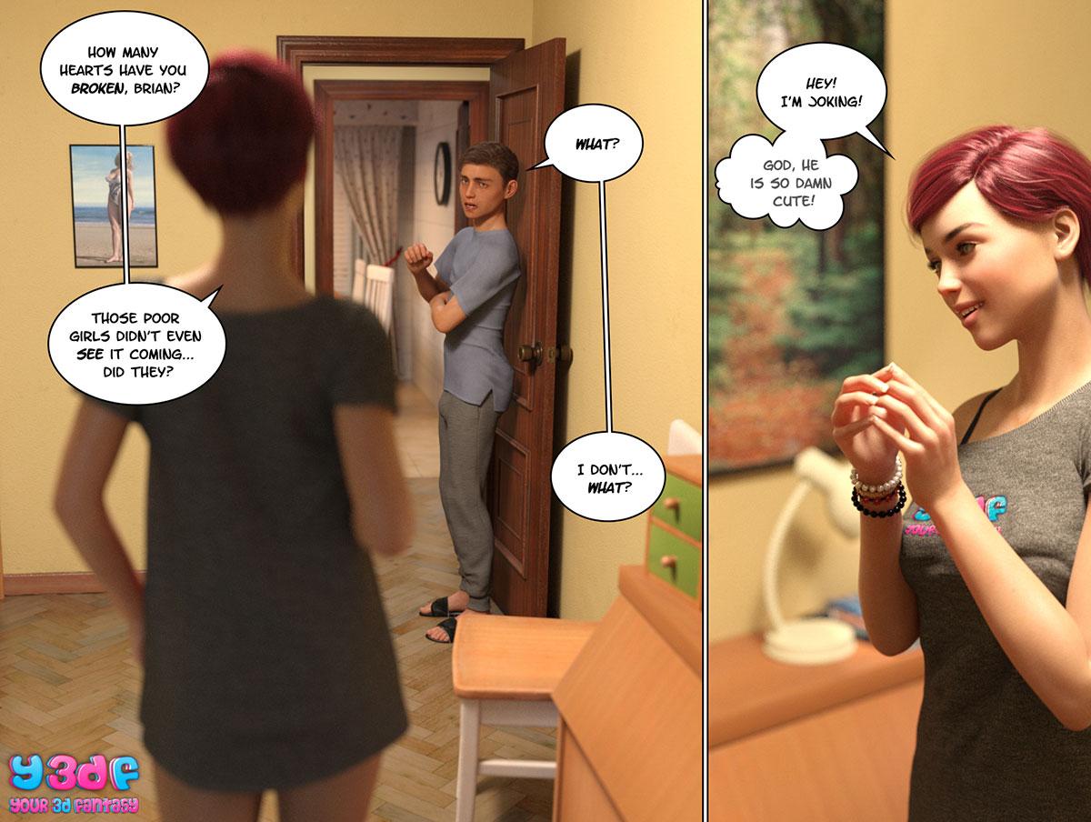 """Y3DF comic """"Circle 4"""" - page 31"""