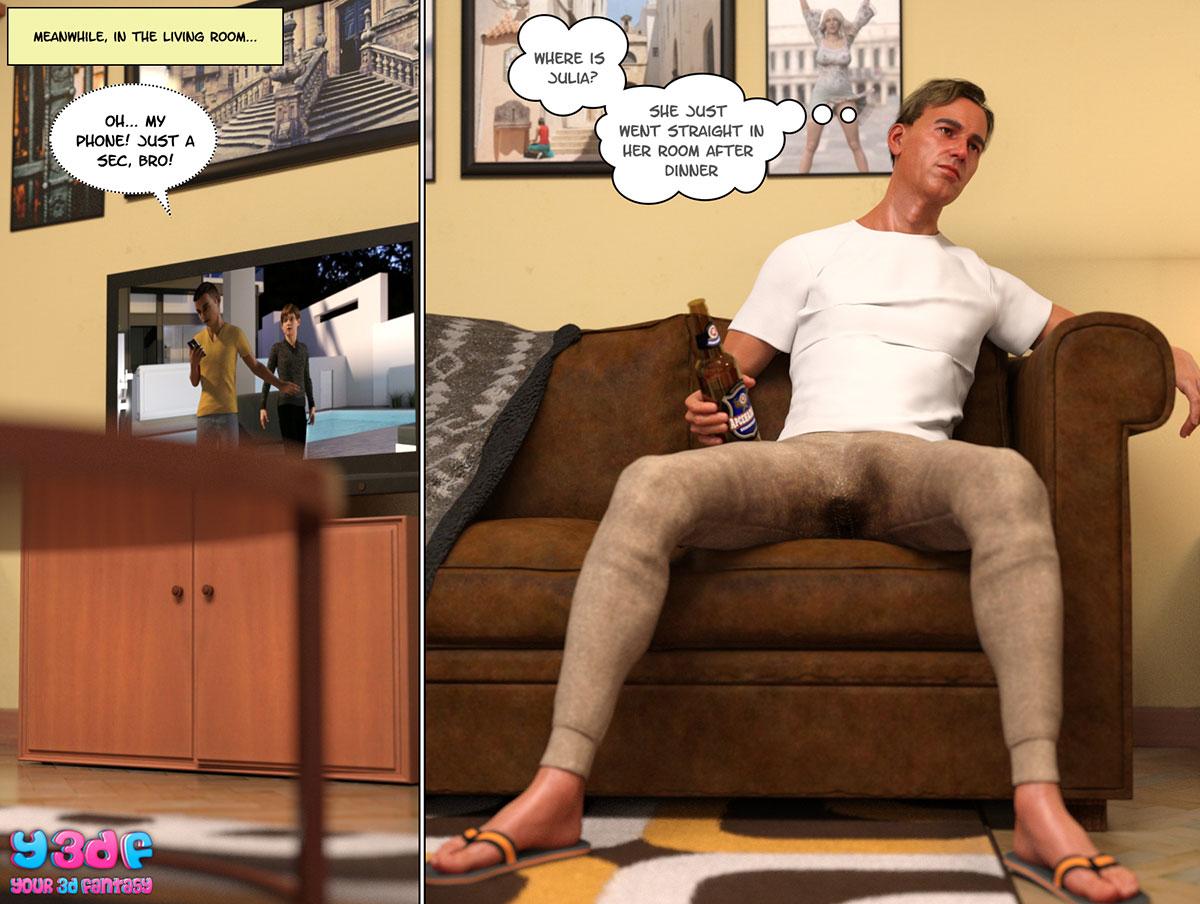 """Y3DF comic """"Circle 4"""" - page 41"""