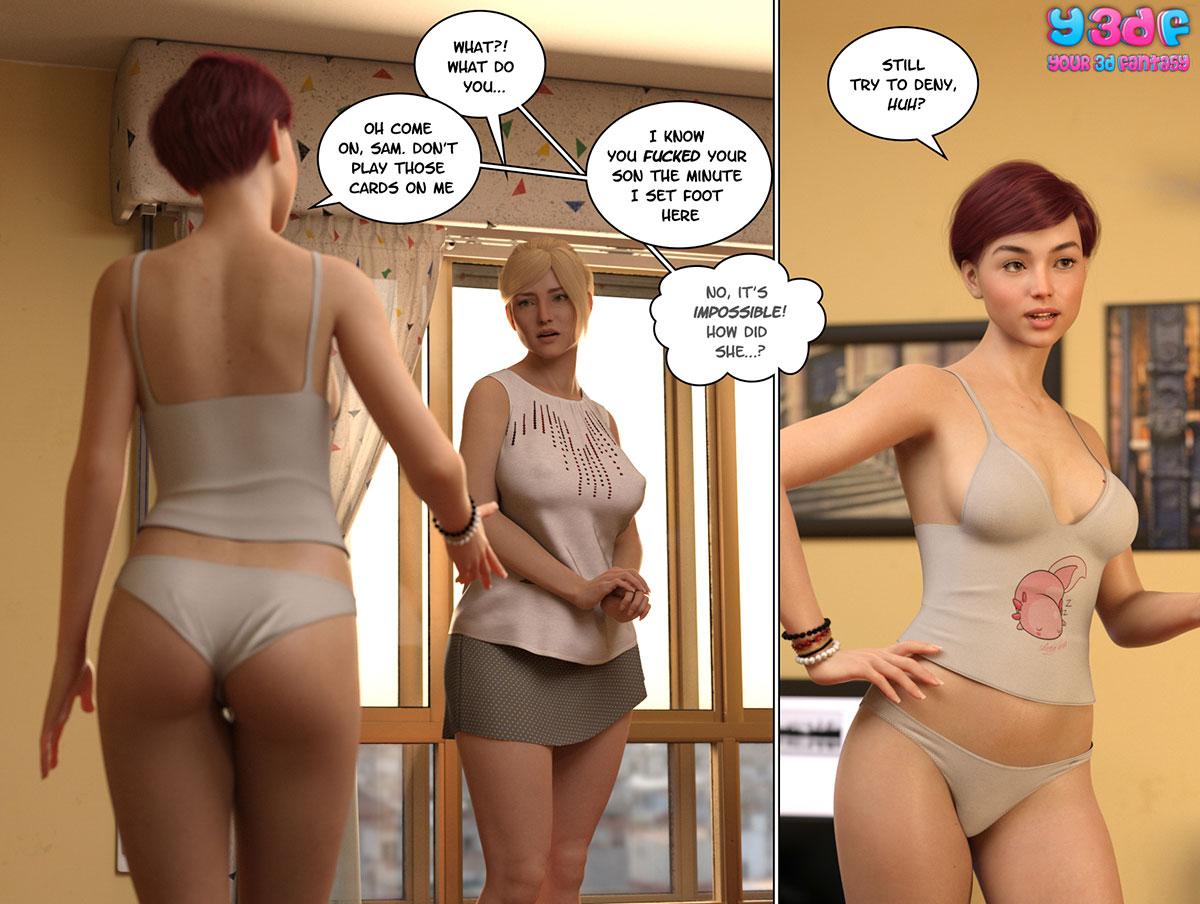 """Y3DF comic """"Circle 5"""" - page 54"""