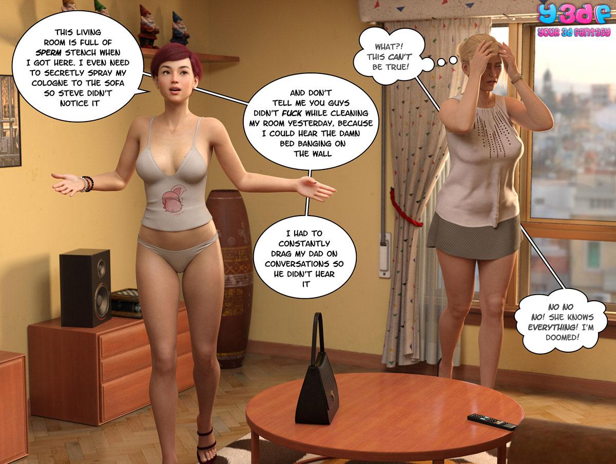"""Y3DF comic """"Circle 5"""" - page 55"""