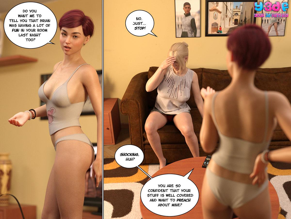"""Y3DF comic """"Circle 5"""" - page 56"""