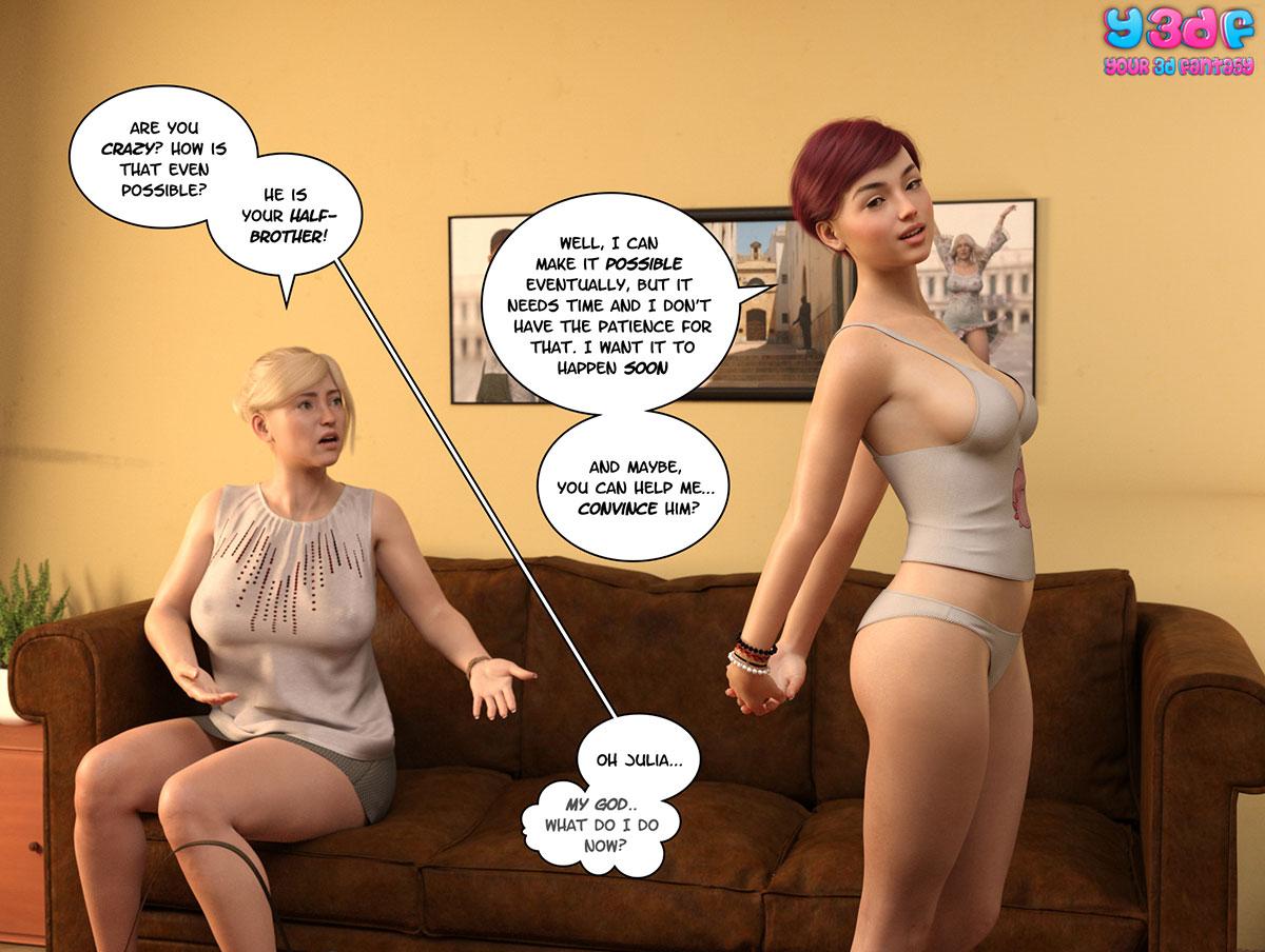 """Y3DF comic """"Circle 5"""" - page 60"""