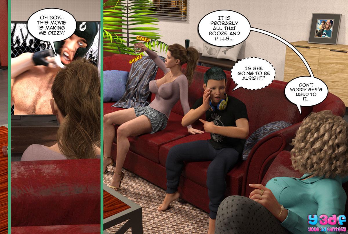 "Y3DF comic ""Prove Thy Self 2"" - page 2"
