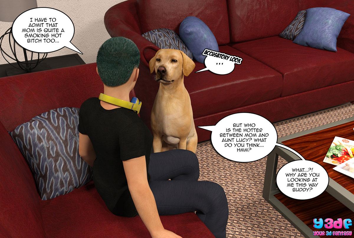 "Y3DF comic ""Prove Thy Self 2"" - page 6"