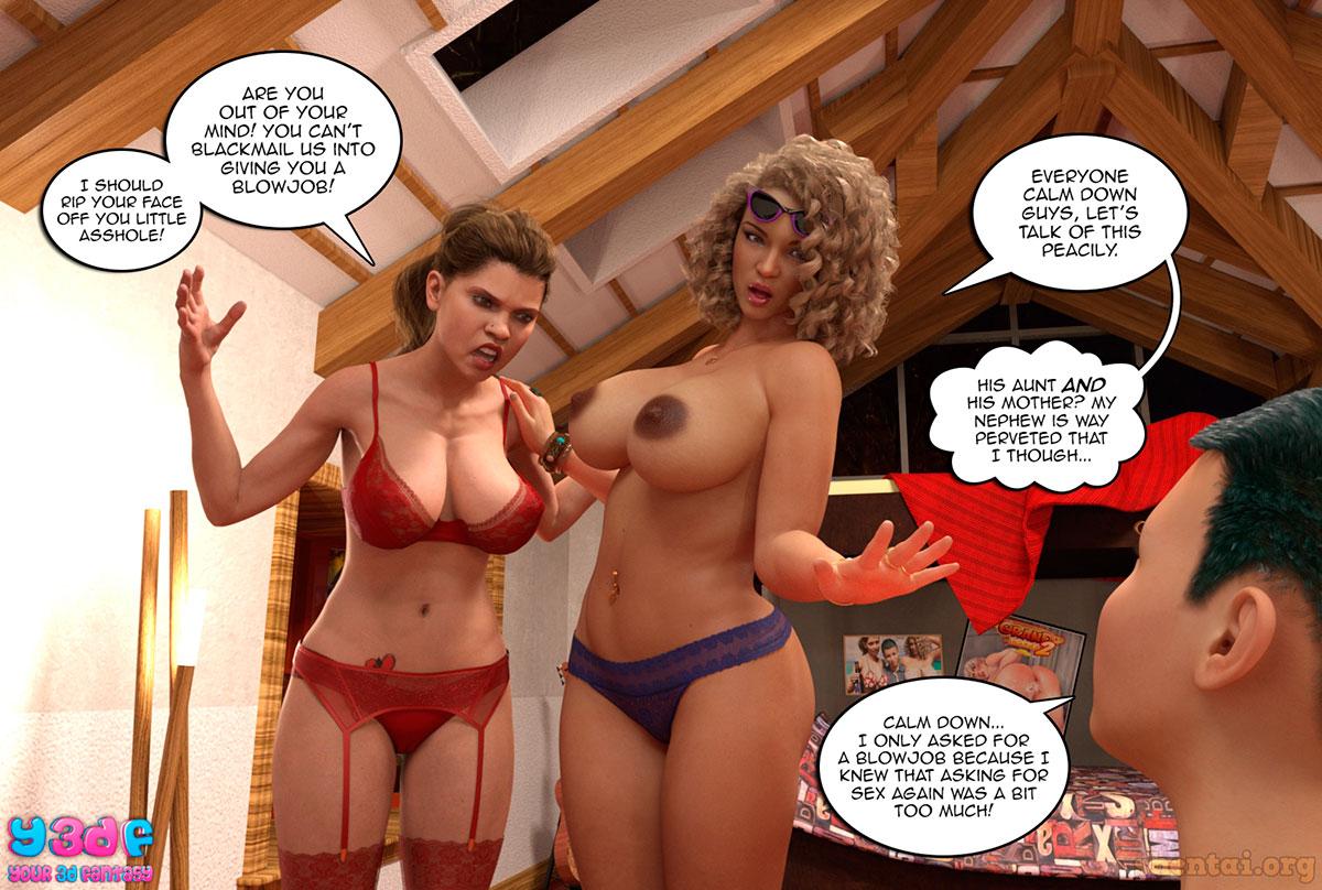 "Y3DF comic ""Prove Thy Self 2"" - page 64"