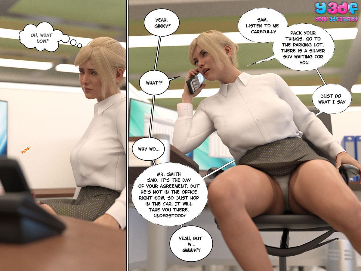 """Y3DF comic """"Circle 6"""" - page 10"""