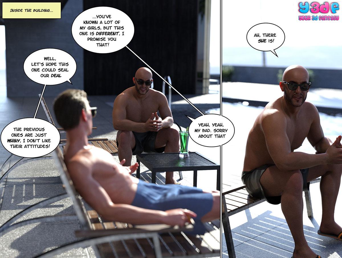 """Y3DF comic """"Circle 6"""" - page 13"""