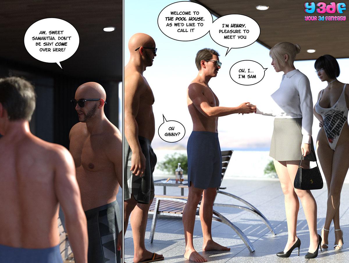 """Y3DF comic """"Circle 6"""" - page 15"""