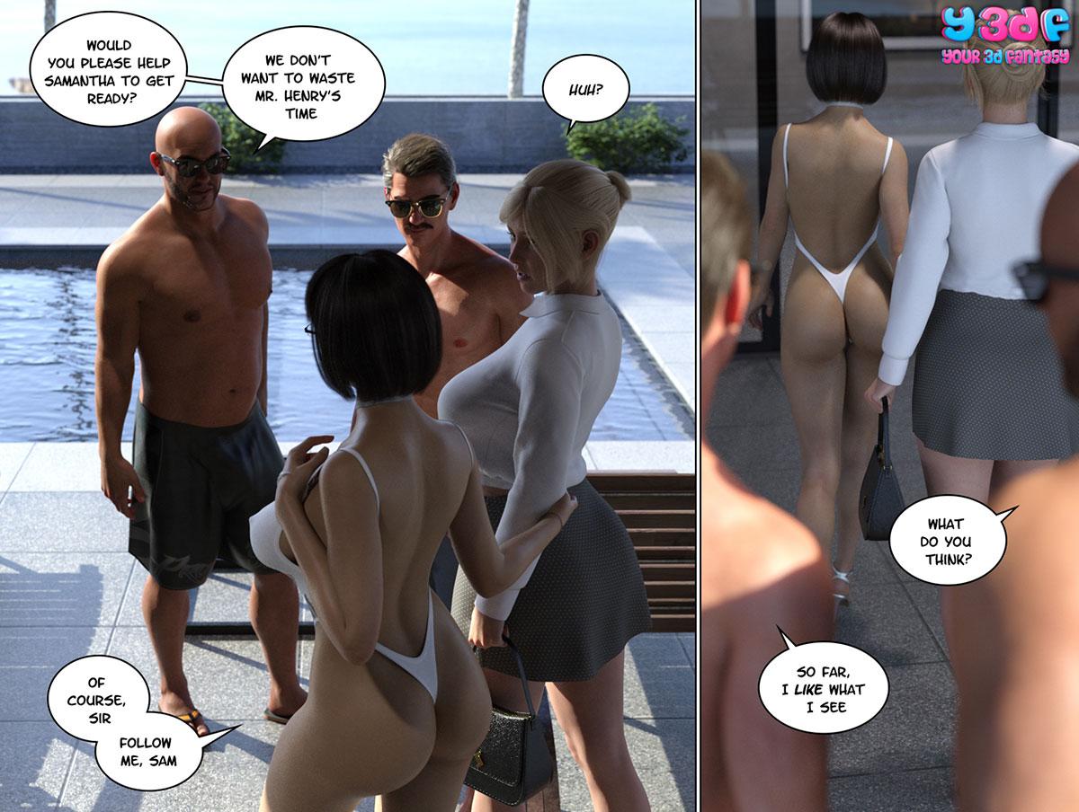 """Y3DF comic """"Circle 6"""" - page 16"""