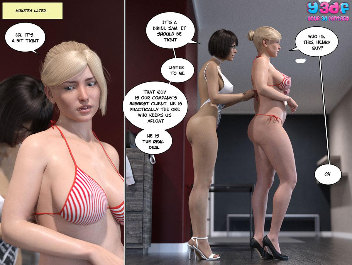 """Y3DF comic """"Circle 6"""" - page 17"""