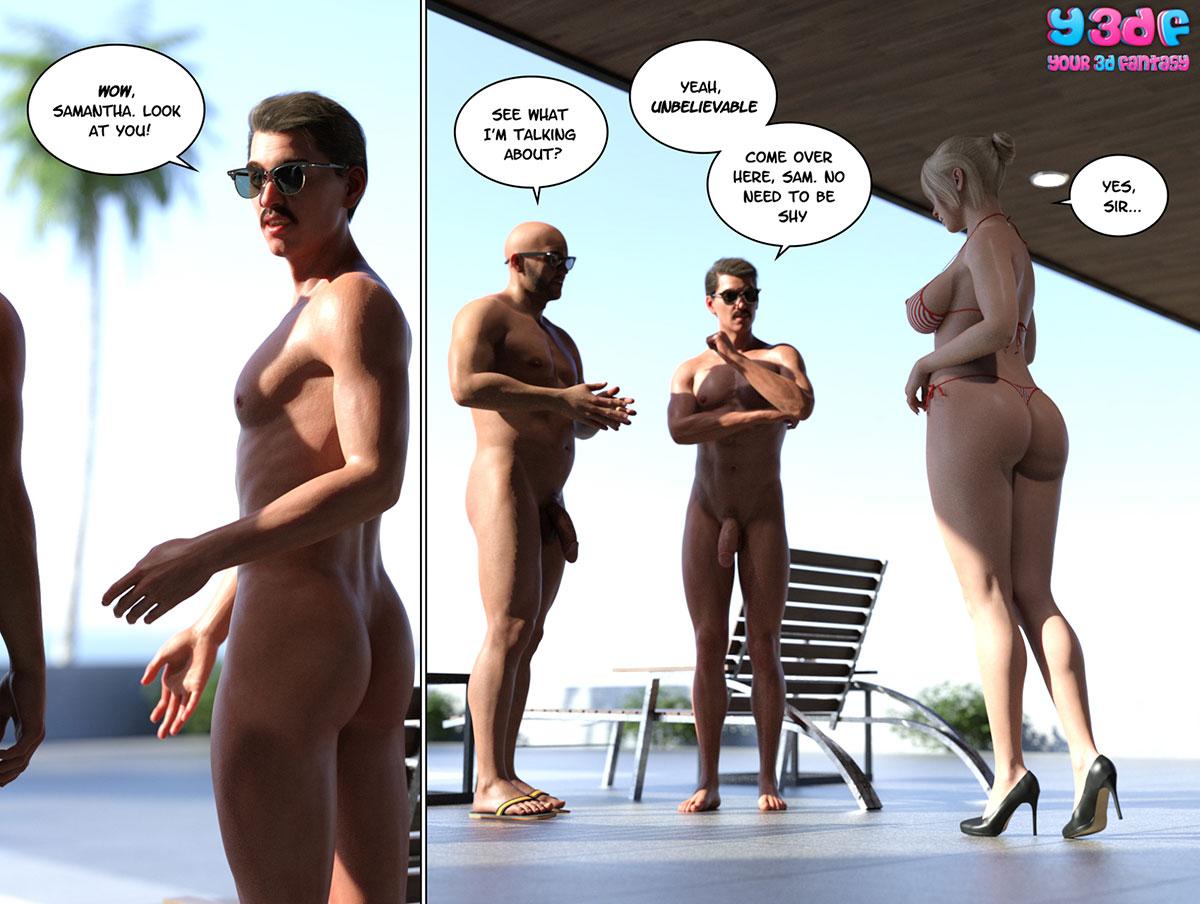 """Y3DF comic """"Circle 6"""" - page 19"""
