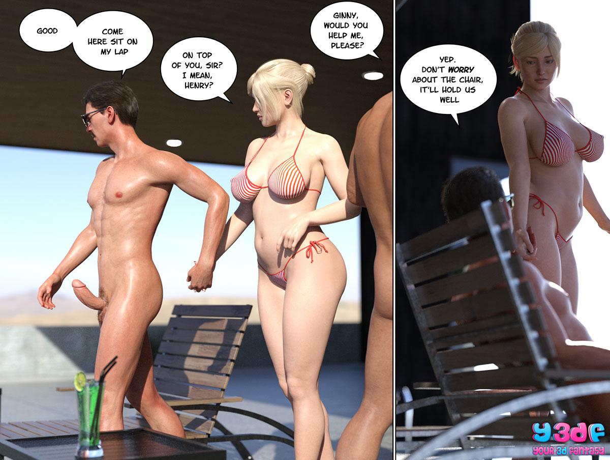 """Y3DF comic """"Circle 6"""" - page 25"""