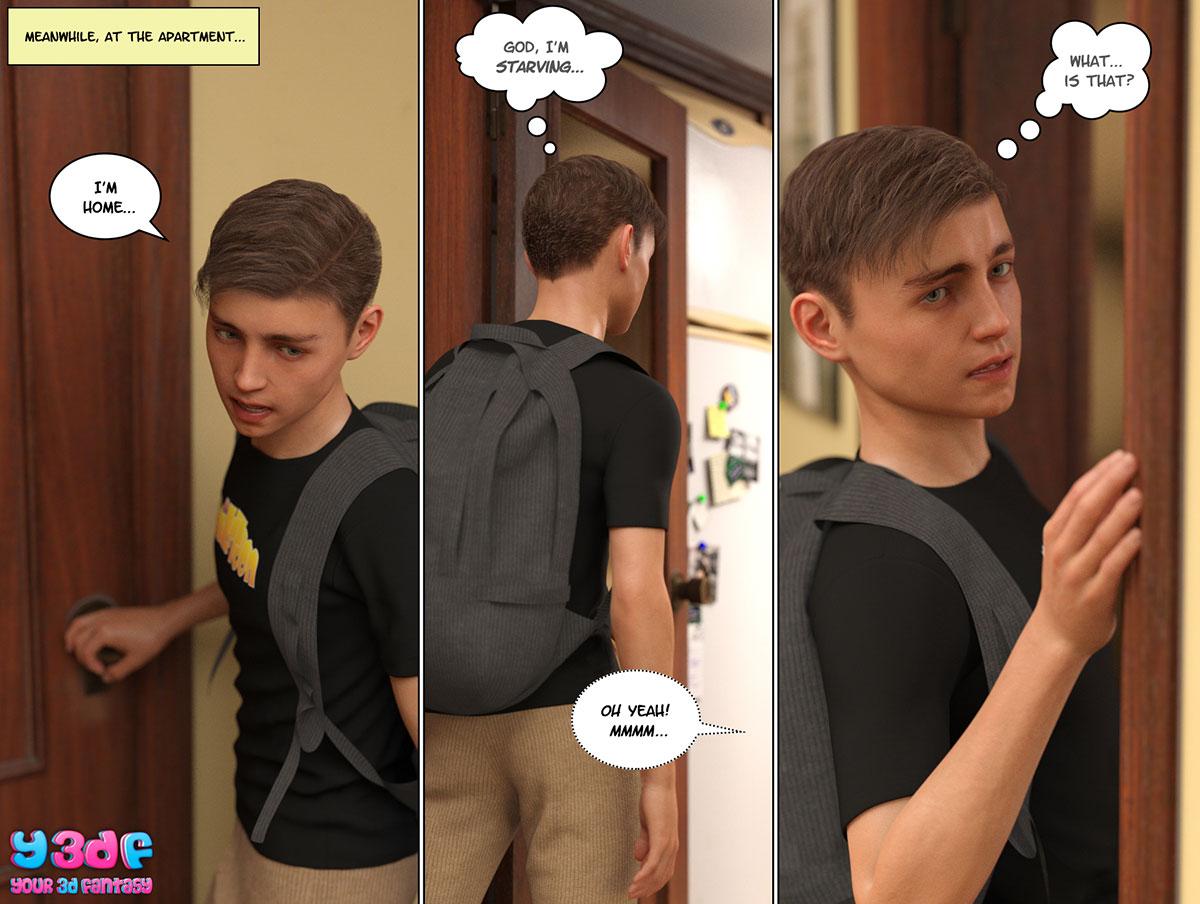 """Y3DF comic """"Circle 6"""" - page 42"""
