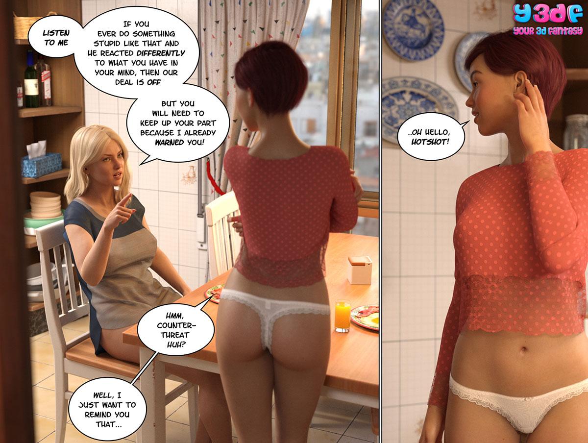 """Y3DF comic """"Circle 6"""" - page 6"""