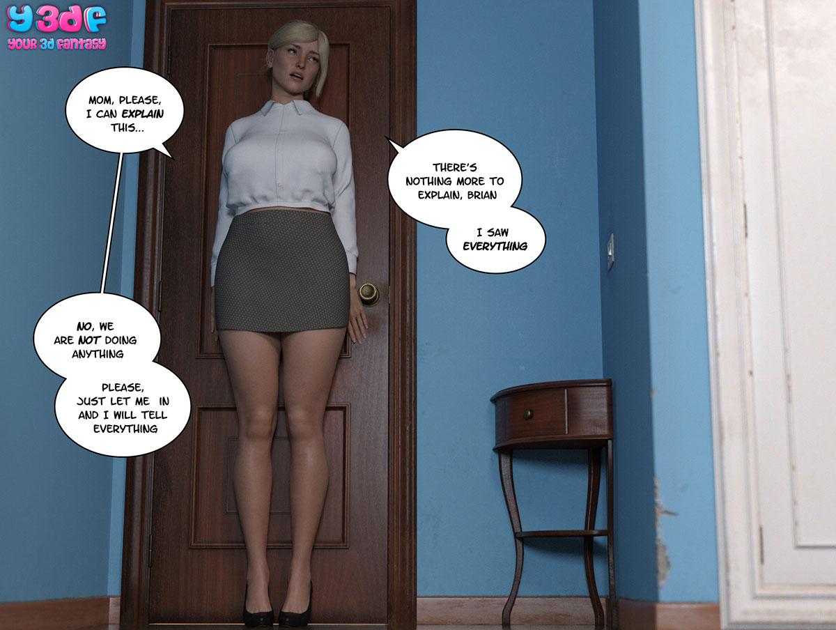 """Y3DF comic """"Circle 6"""" - page 66"""