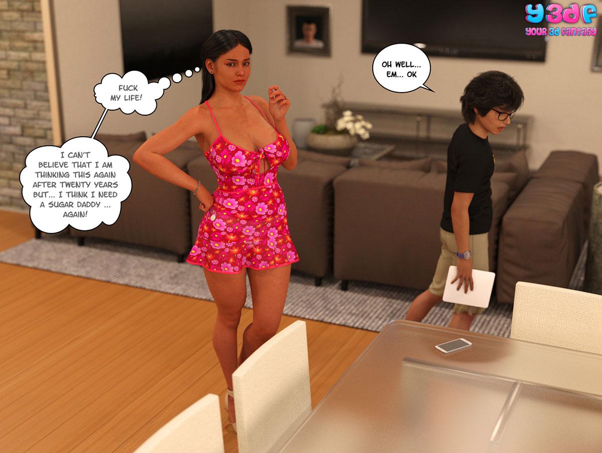 "Y3DF comic ""TrophyMom"" - page 13"