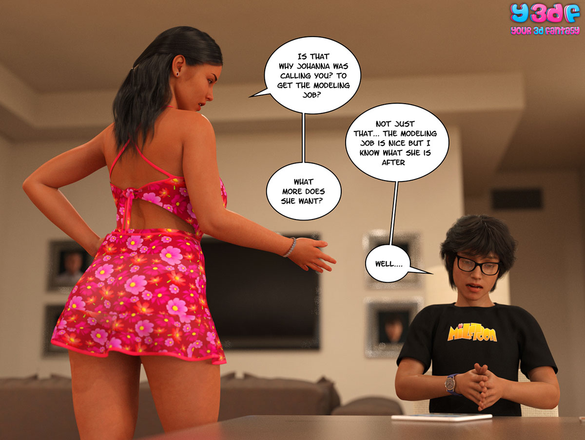 "Y3DF comic ""TrophyMom"" - page 20"