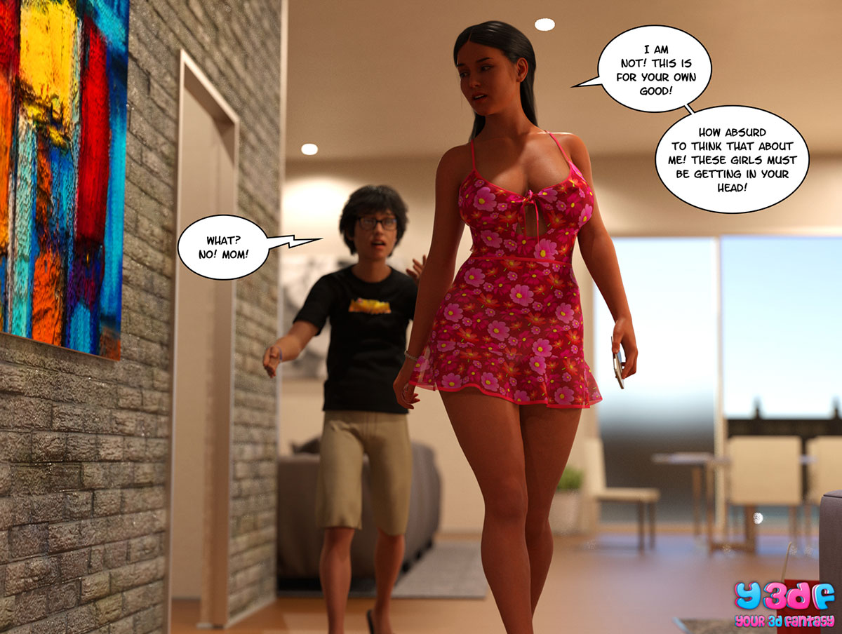"Y3DF comic ""TrophyMom"" - page 30"