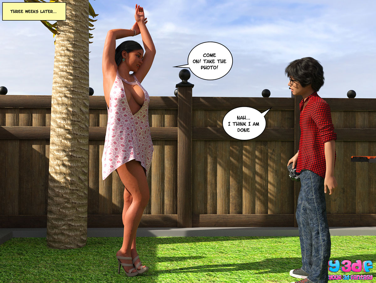 "Y3DF comic ""TrophyMom"" - page 36"
