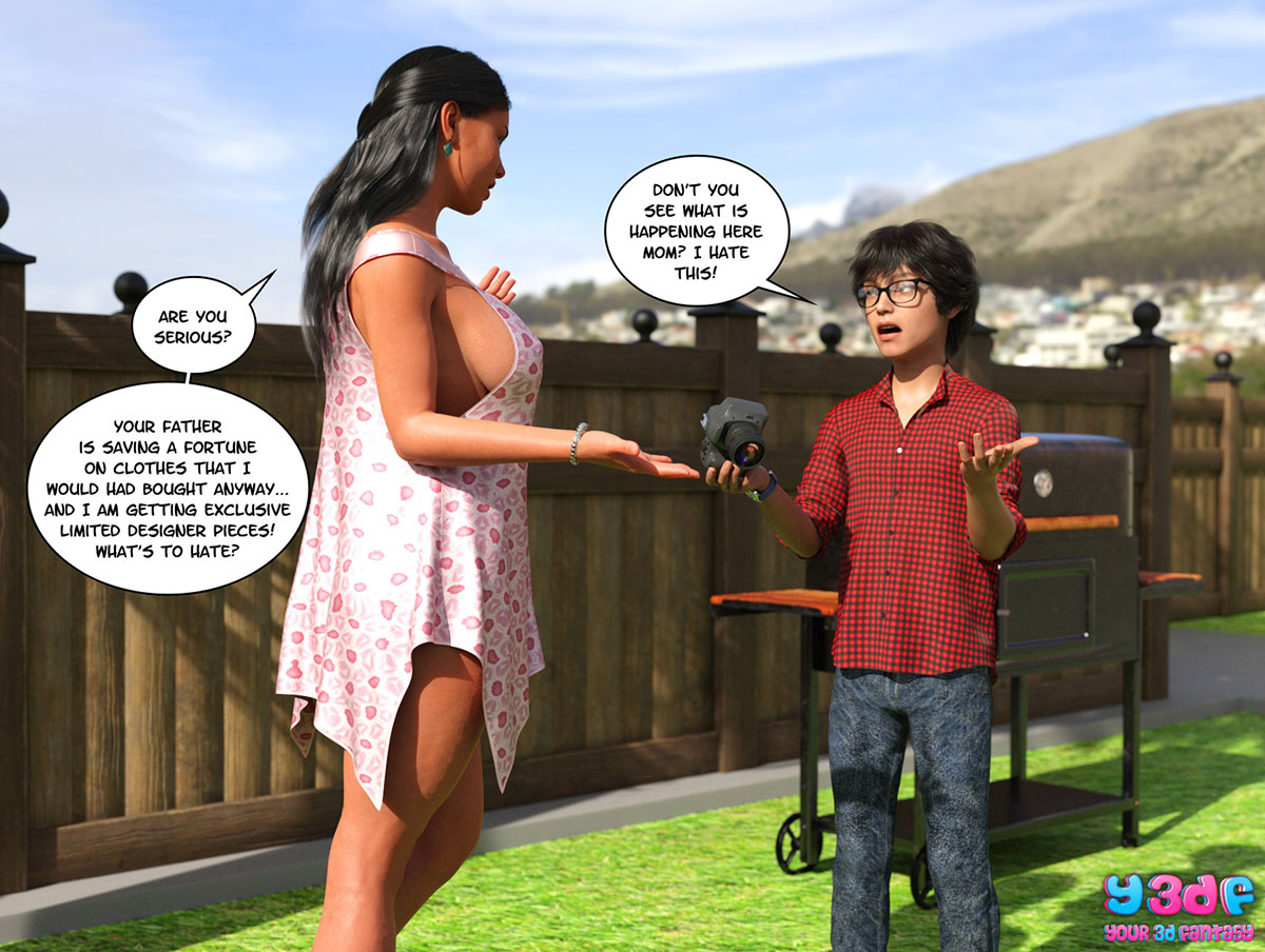 "Y3DF comic ""TrophyMom"" - page 38"