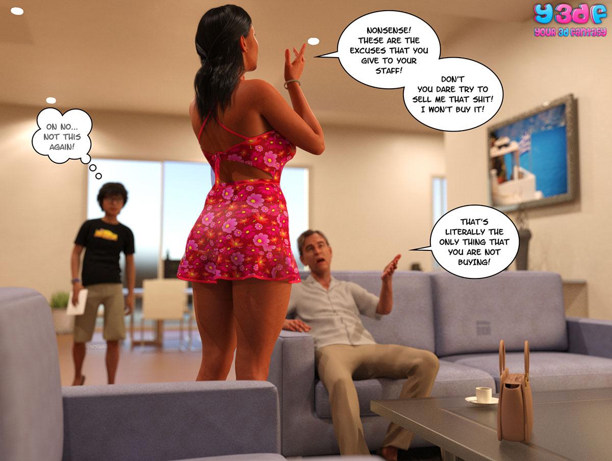 "Y3DF comic ""TrophyMom"" - page 4"