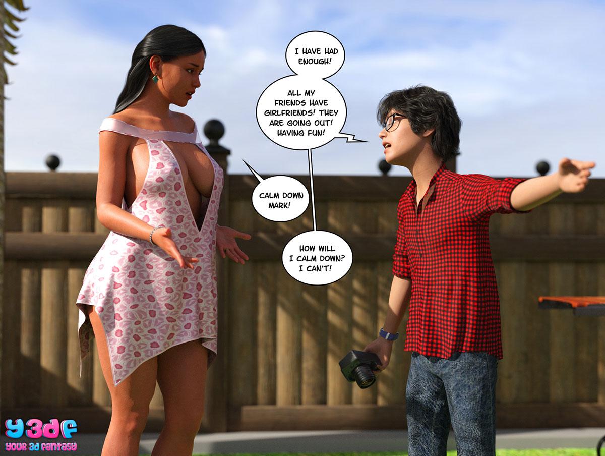 "Y3DF comic ""TrophyMom"" - page 41"