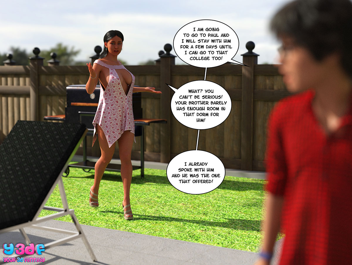 "Y3DF comic ""TrophyMom"" - page 43"