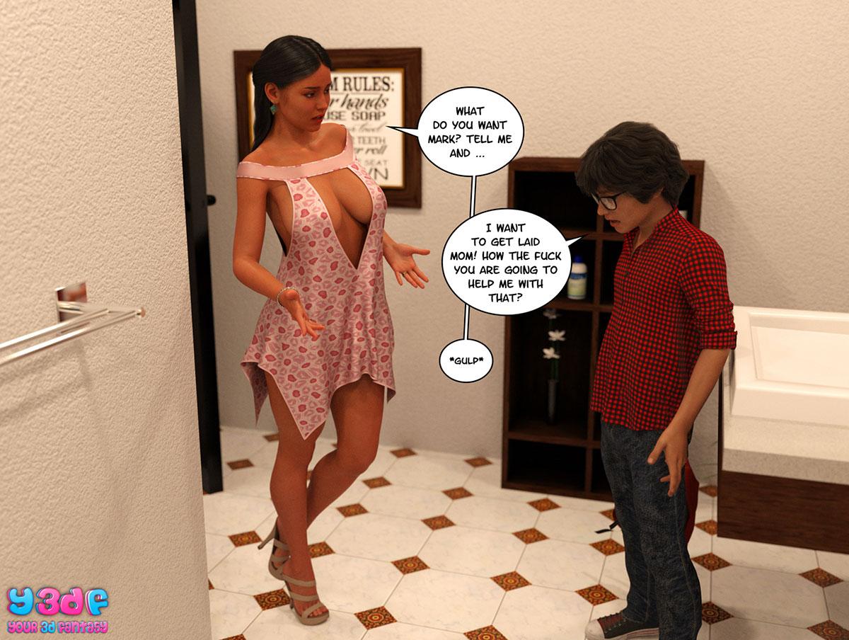 "Y3DF comic ""TrophyMom"" - page 51"