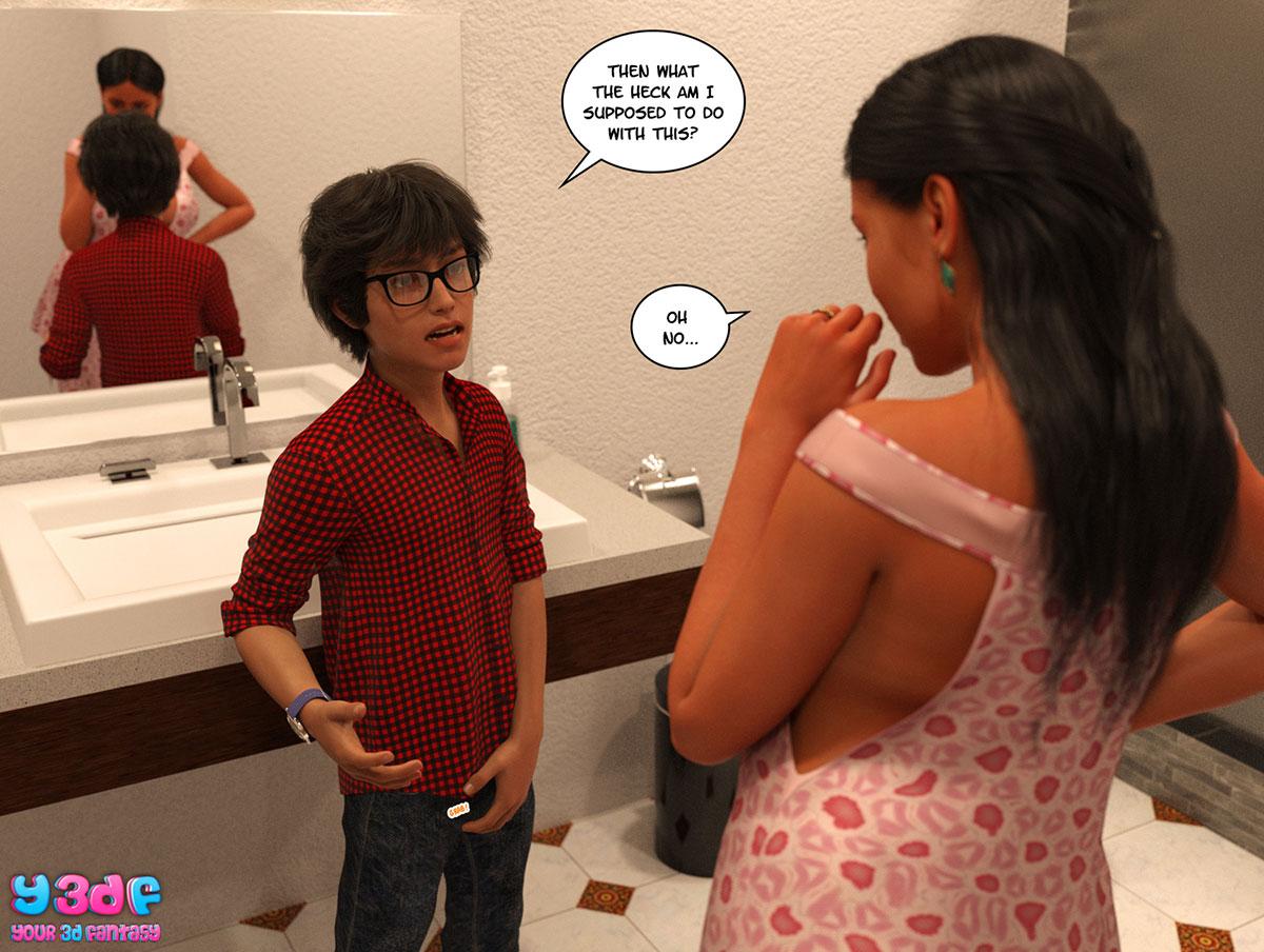 "Y3DF comic ""TrophyMom"" - page 54"