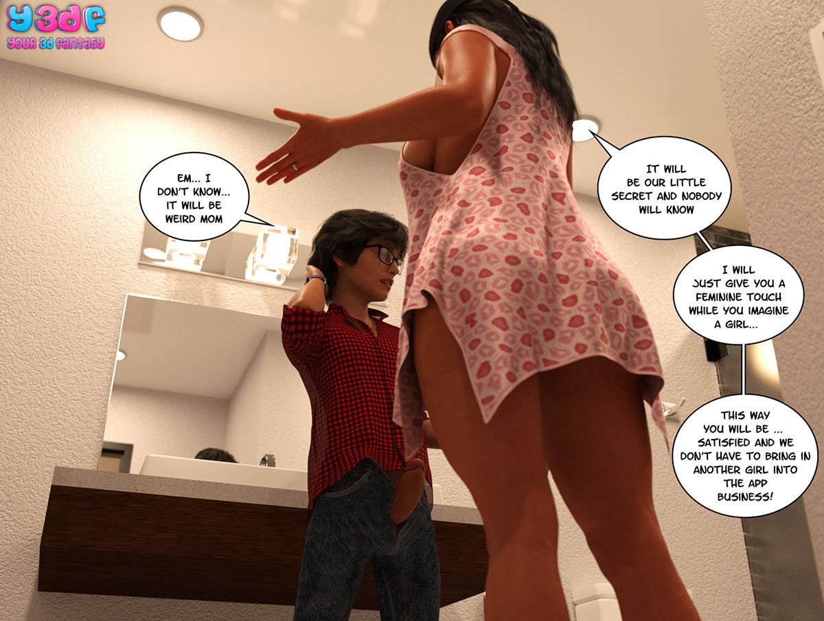 "Y3DF comic ""TrophyMom"" - page 63"