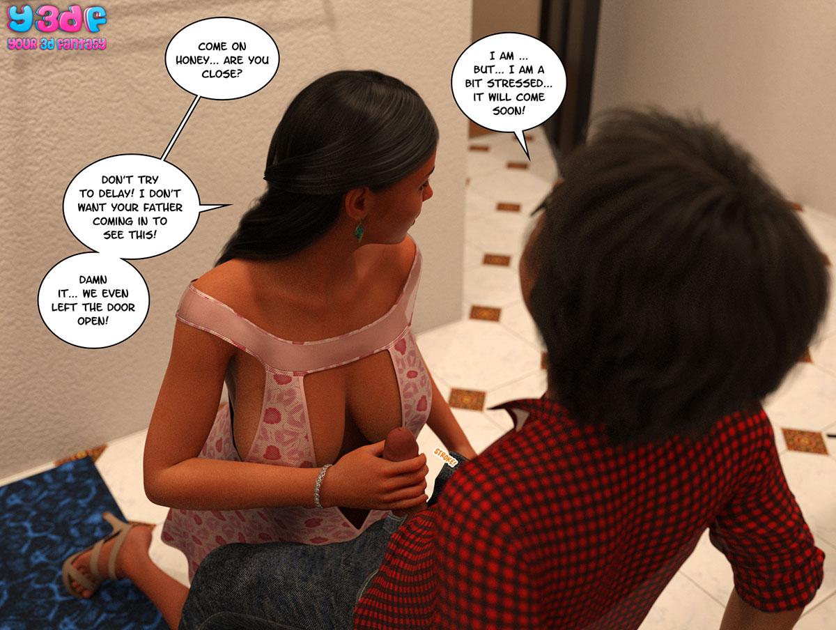 "Y3DF comic ""TrophyMom"" - page 68"