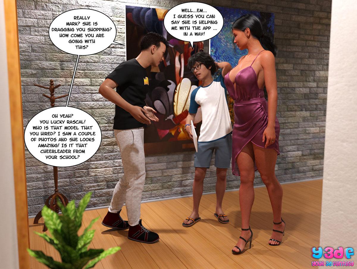 "Y3DF comic ""TrophyMom 2"" - page 39"